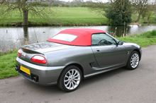 Picture of MGF Sportster Glass Window (H656E)