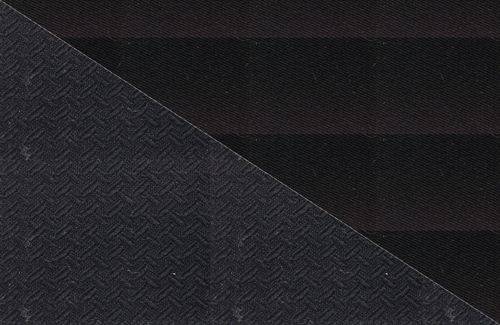 Picture of Cabrio Cloth on Black - Mohair Hooding (With Black Backing)