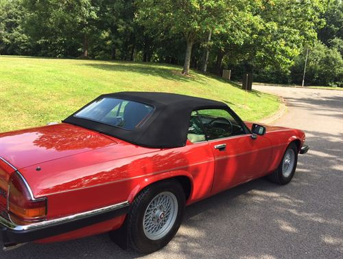 Picture of XJS Full Convertible Hood (H410)