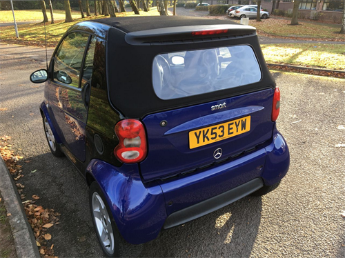 Picture of Smart  four-two rear section (H1010)